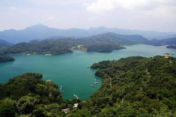 Sun Moon lake meer Taiwan
