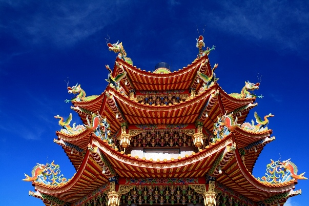 Tainan gebrouw dak Taiwan Djoser