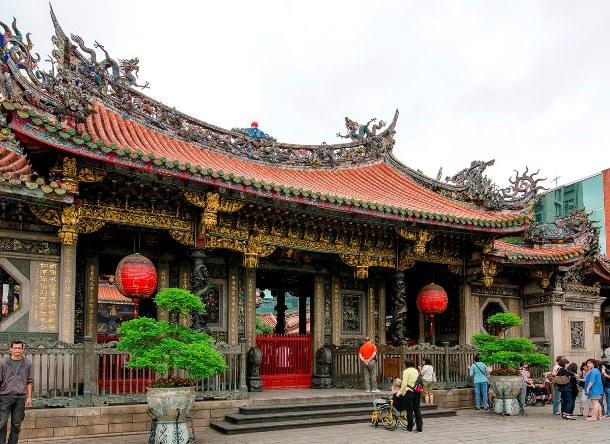 Longshan tempel Taiwan Djoser